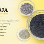 Sabja (Sweet Basil Seeds)