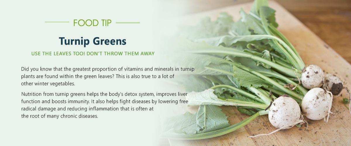 food-tip-turnip-green