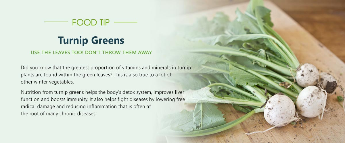 food-tip-turnip-green